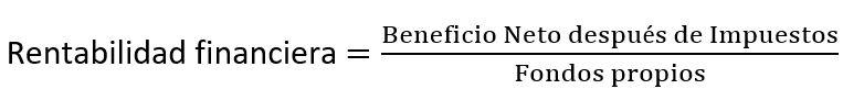 formula Rentabilidad Financiera