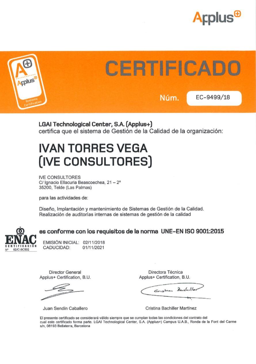 Certificado ISO 9001 – Qué es y Como Conseguirlo