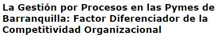 título investigación universidad simon bolivar principio enfoque a procesos