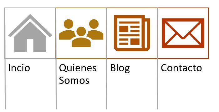 estructura de tu pagina web