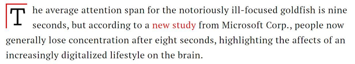 estudio y publicación sobre lapso tiempo permanencia en web