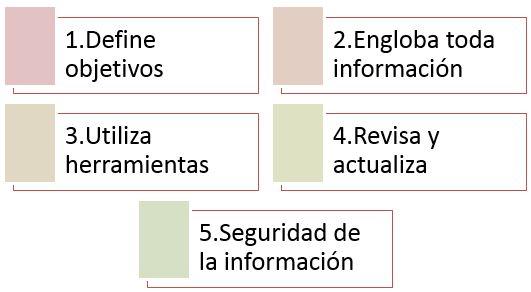 pasos para gestionar las bases de datos de tu empresa